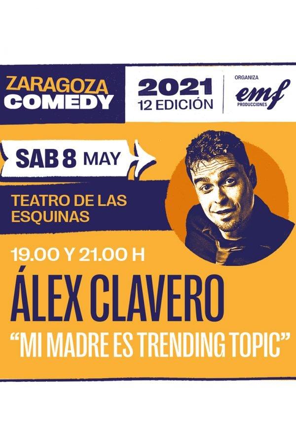 Mi madre es trending topic, Zaragoza Comedy, 08/05/2021