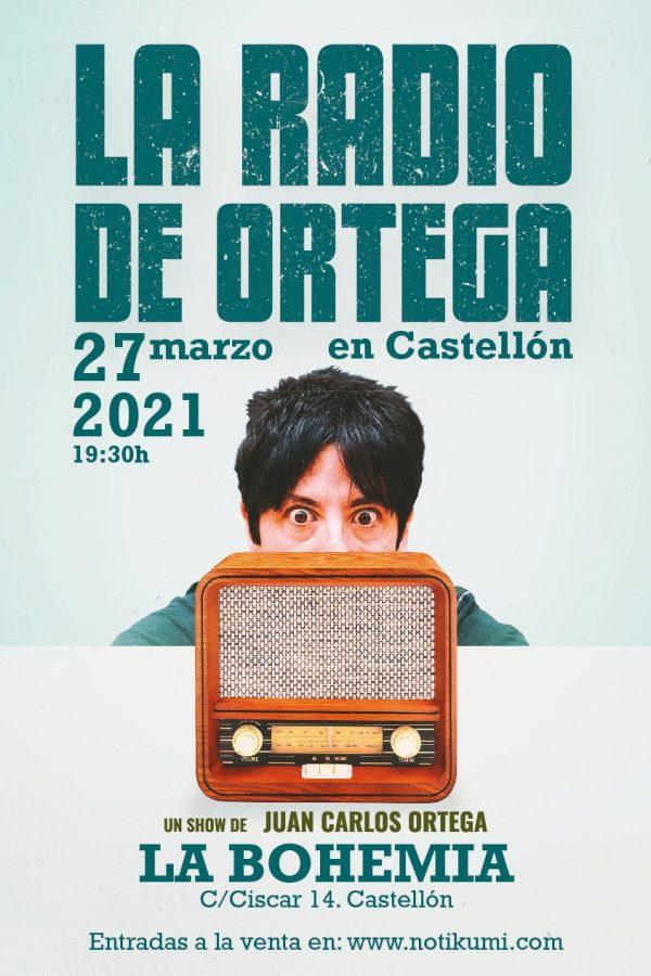 La Radio de Ortega, Castellón, 27/03/21