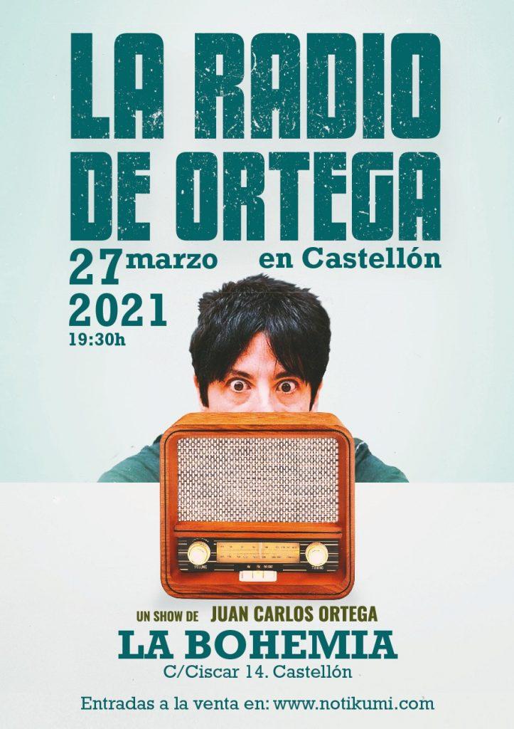 La Radio de Ortega. Castellón 27 de Marzo