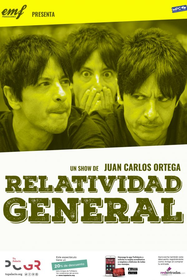 Relatividad general, Granada, 05/03/21