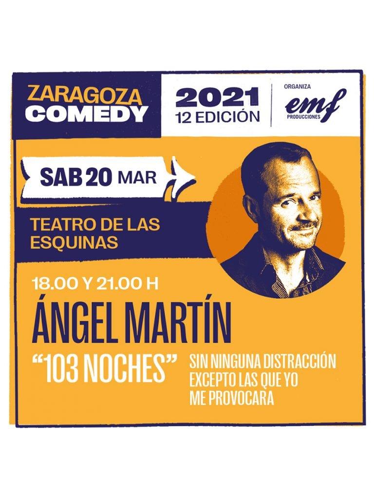 Cartel 103 Noches Zaragoza Comedy