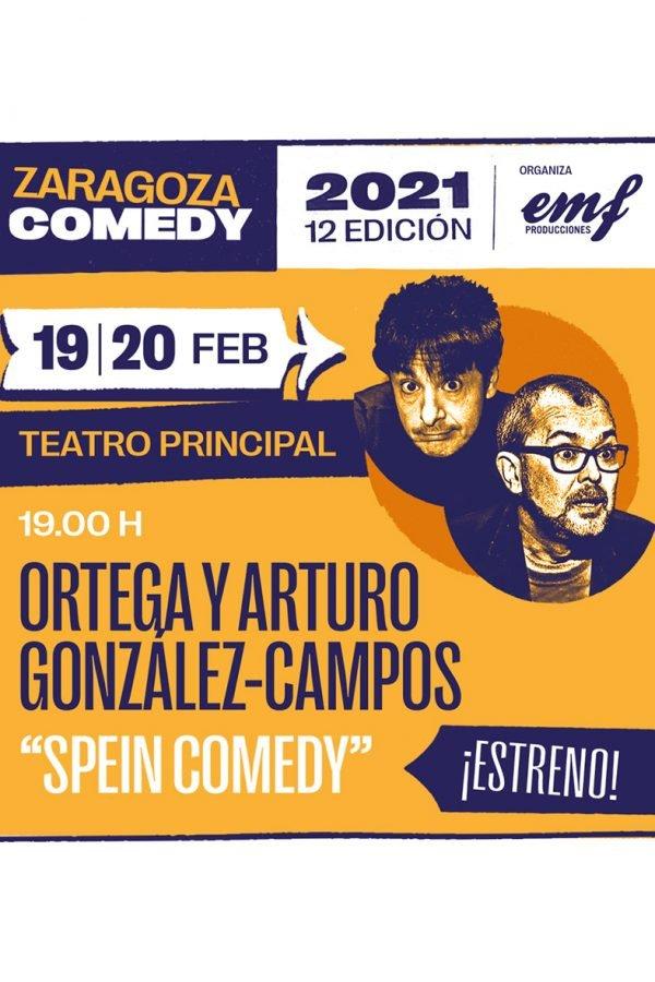 Spein Comedy, Zaragoza, Teatro Principal, 20/02/21