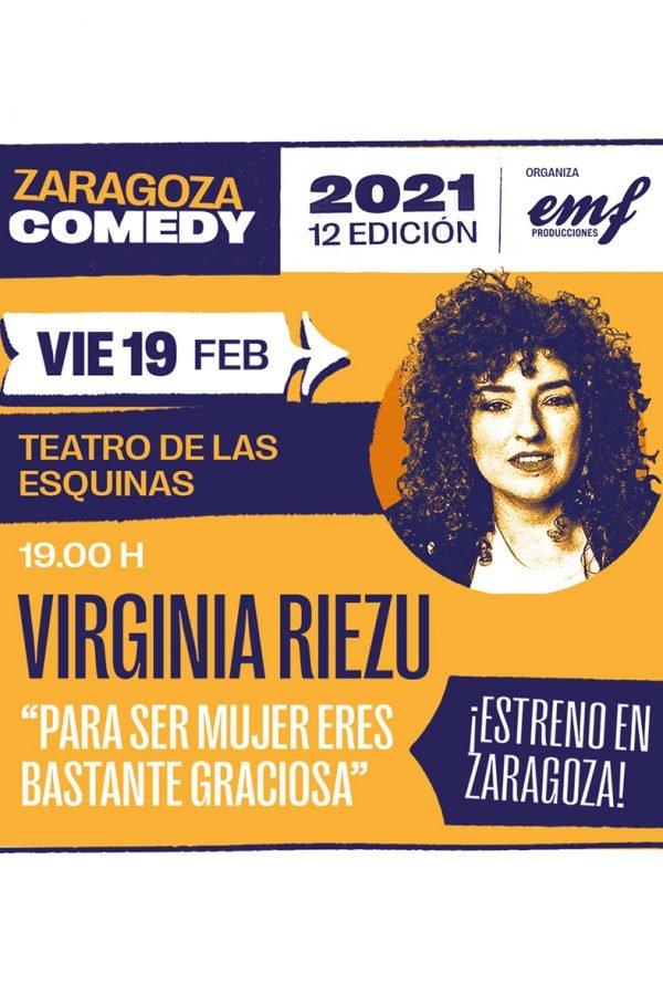 Para ser mujer eres bastante graciosa, Zaragoza Comedy, 19/02/21