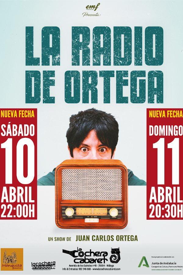 La radio de Ortega, Málaga, 10/04/21